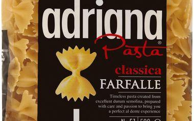 Adriana Adriana Farfalle těstoviny semolinové sušené 500g