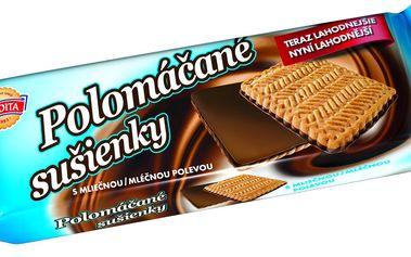 Sedita Sedita Polomáčené sušenky s mléčno-kakaovou polevou 100g