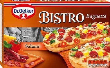 Dr. Oetker Dr. Oetker Bistro Baguette se salámem a sýrem hluboce zmrazená 2 x 125g