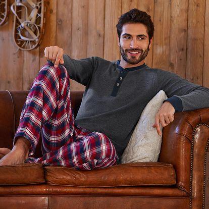 Tchibo, Pánské pyžamo, červené M (48/50)