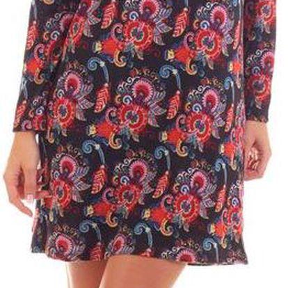 Ada Gatti dámské šaty V706-BLACK