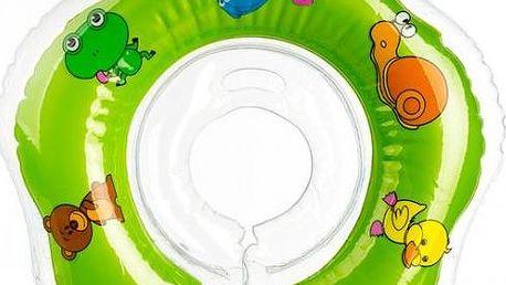Plavací nákrčník Flipper od 0 měsíců, zelený