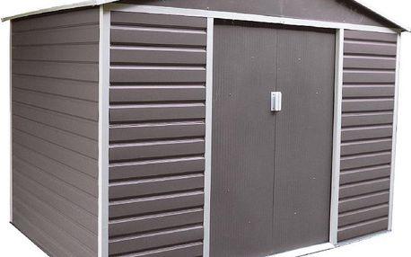 G21 GAH 1085 zahradní domek 340 x 319 cm, šedý