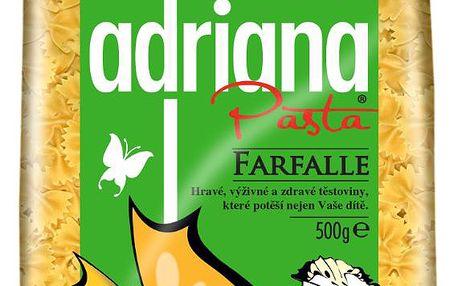 Adriana Adriana ZOO těstoviny semolinové sušené mini motýlci 500g