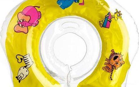 Plavací nákrčník Flipper od 0 měsíců, žlutý