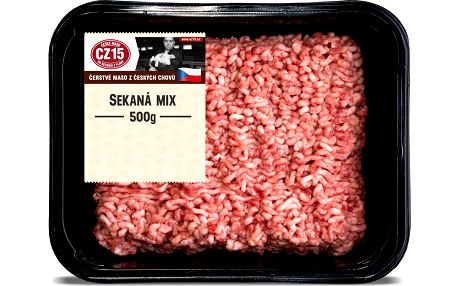 Kostelecké Uzeniny Sekaná mix 35% tuku 500g