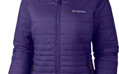 Dámská teplá zimní bunda Columbia Go To Hooded Jacket Womens hyper purple L