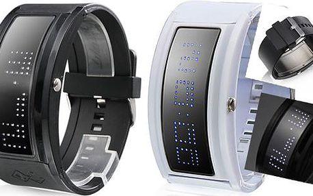 Originální unisex LED hodinky. Ukaž svůj vlastní styl