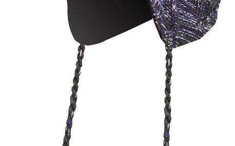 Veselá dámská pletená čepice Direct Alpine Mona violet/white M