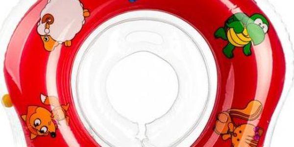 Plavací nákrčník Flipper od 0 měsíců, červený
