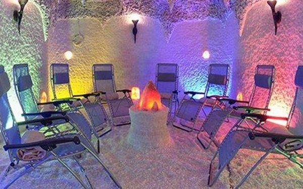 Čtvrtletní neomezený vstup do solné jeskyně v Jesenici