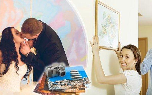 Tisk vlastní fotografie na umělecké fotoplátno. Výběr z 8 rozměrů obrazů na smrkovém rámu! Vyberte ty nejhezčí fotky Vašich dětí, fotky z dovolené, rodinné oslavy nebo svatby a uchovejte si tak vzpomínku jako skvělou originální dekoraci do bytu či kancelá