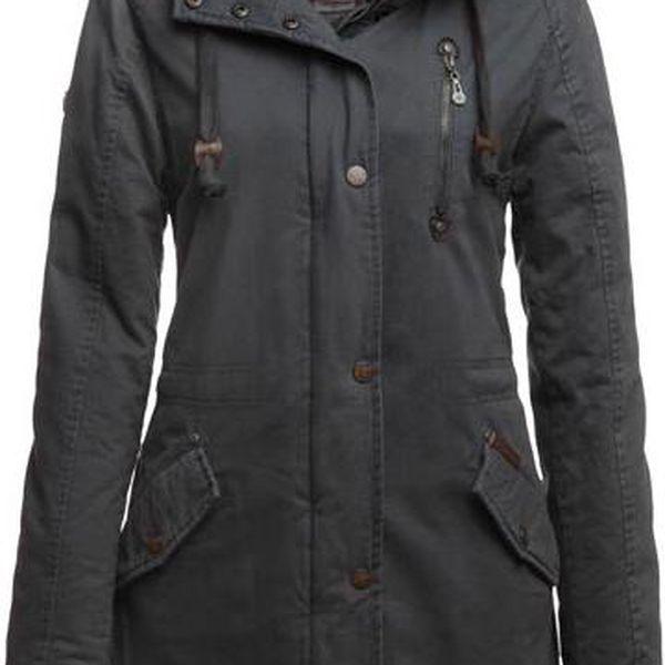 DreiMaster Dámský kabát 35133117_grau