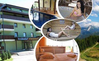 All inclusive ve Vysokých Tatrách v rezortu Nezábudka na 3 nebo 4 dny pro 2 osoby. Wellness procedury, bazén, sauna, láhev sektu a další bonusy v srdci Vysokých Tater. Užijte si super relax ve Vysokých Tatrách!