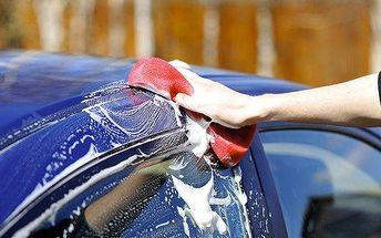 Čištění interiéru + ruční mytí automobilu