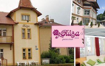 Pobyt v penzionu Růža v Luhačovicích pro dvě osoby na 3 nebo 4 dny. Slevy, wifi a parkování zdarma!