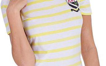 Dámské tričko Abercrombie&Fitch, žluté