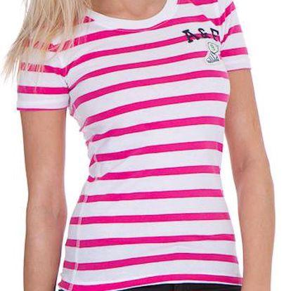Dámské tričko Abercrombie&Fitch růžové