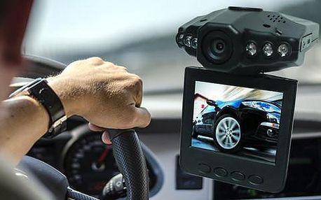 HD kamera do auta s nočním režimem a menu v českém jazyce
