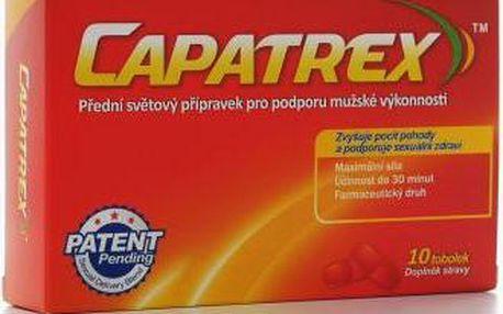 Afrodisiakum pro muže Capatrex 10 tobolek, na podporu erekce