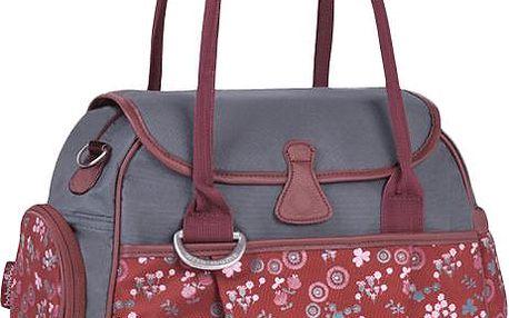 Babymoov Style Bag Cherry šedá/červená