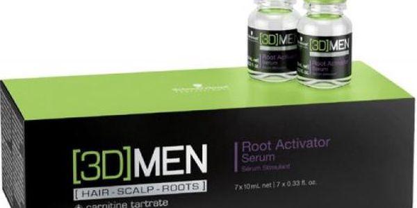 Schwarzkopf Professional [3D] Men Root Activator Serum 7 x 10 ml