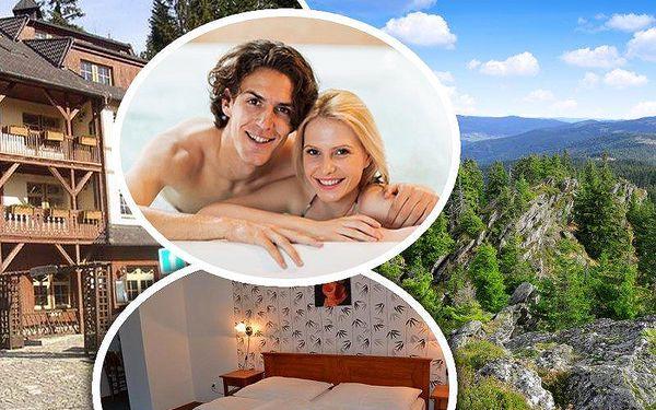Pobyt pro dva s polopenzí na Šumavě v hotelu Modrava. V ceně whirpool a zapujčení kol nebo běžek!