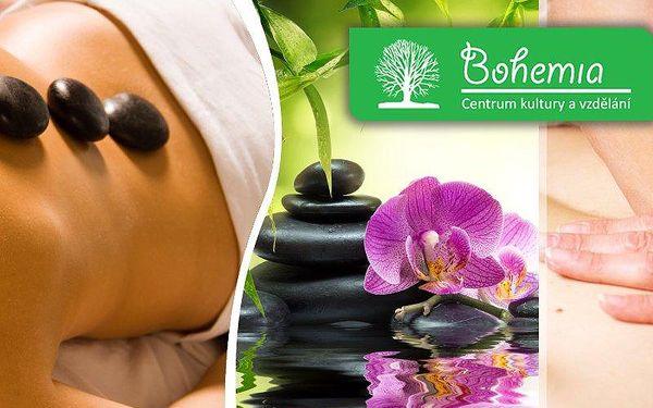 Masáž lávovými kameny nebo Breussova masáž. Svěřte se do rukou profesionálů a dopřejte si relax!!