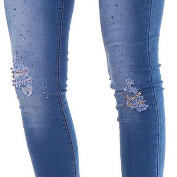 Dámské džíny Made in Italy, modré