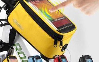 Cyklobrašna na rám jízdního kola - 3 velikosti, 4 barvy