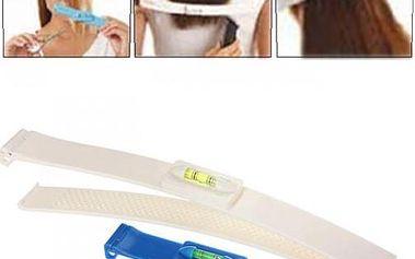 Praktické klipy pro rovné stříhání vlasů - 2 kusy