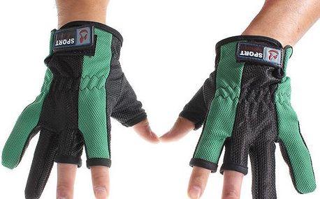 Praktické rybářské rukavice