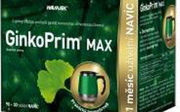 Walmark GinkoPrim MAX 120 tablet + DÁREK termohrnek