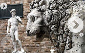 Last minute 1.- 4.10.: Skvosty Itálie - Řím a Florencie ve 4denním poznávacím zájezdu