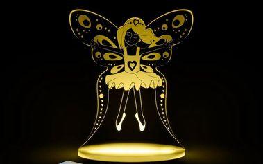 Dětské LED noční světýlko Aloka Fairy - doprava zdarma!