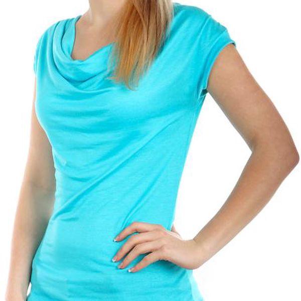 TopMode Krásné elegantní tričko světle modrá