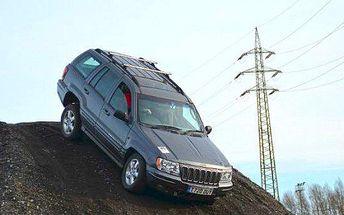 Adrenalinková jízda v Offroad Jeep Grand Cherokee