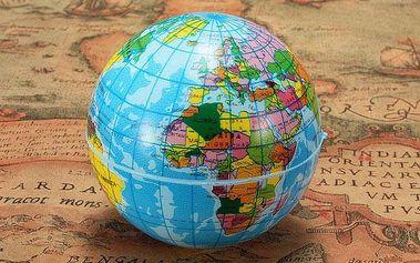 Antistresový míček - planeta země