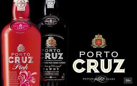 Nejoblíbenější portská vína Porto Cruz