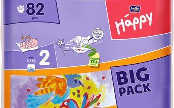 BELLA HAPPY Mini (3-6 kg) Big Pack 82ks
