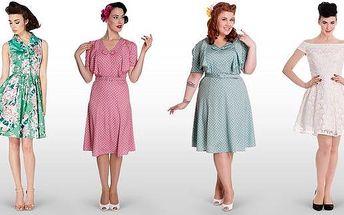 Úchvatné retro šaty ve stylu 40. a 50.let