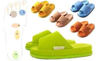 Kvalitní akupresurní pantofle na různé zdravotní problémy. Poštovné je v ceně!