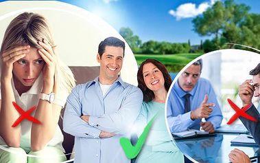 Terapeutická konzultace! Osamělost, stres, deprese, manželská krize - zjistěte jiný úhel pohledu!