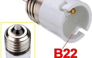 Redukce žárovky z E27 na B22