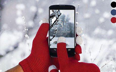 Unisex rukavice na dotykový displej