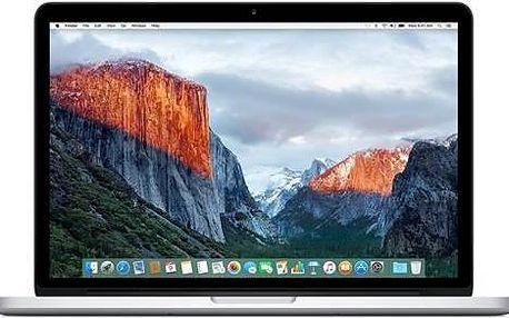 Apple MacBook Pro 13 Retina 2015 (MF839CZ/A) stříbrný + + dárek Monitorovací software Pinya Guard - licence na 6 měsíců (zdarma) + Doprava zdarma