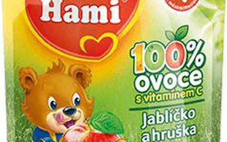 Hami ovocná kapsička Jablíčko Hruška 90g