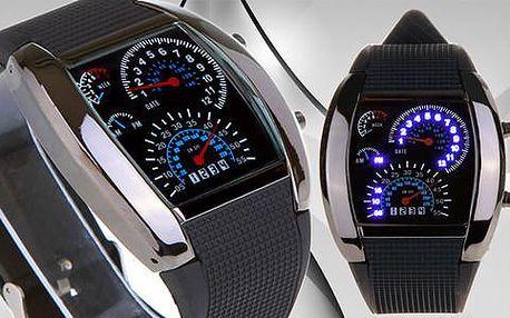 Binární LED hodinky s poštovným zdarma