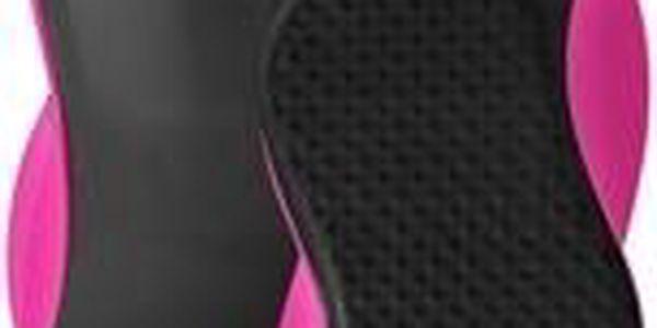 Detangler Grip kartáč na vlasy černo-rúžový