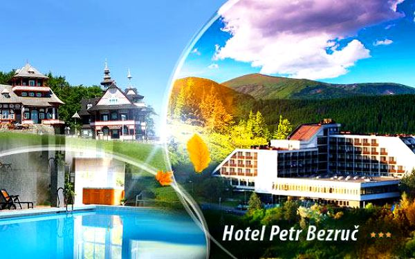 Beskydy - Hotel Petr Bezruč! 4 nebo 7 dní pro 1 osobu včetně polopenze, wellness! Možnost 1 noci ZDARMA!